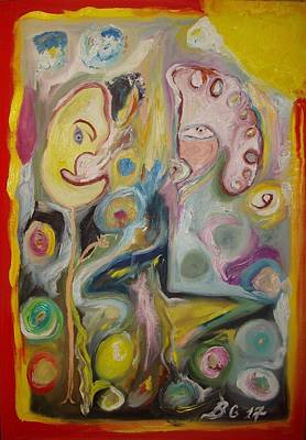 Painting - 3 Images by Bennu Bennu