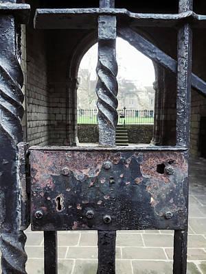 Iron Railings Detail  Art Print