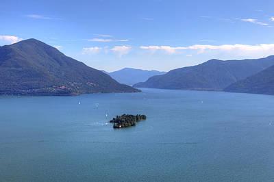 Lago Maggiore Photograph - Isole Di Brissago by Joana Kruse