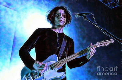 Jack White Mixed Media - Jack White Collection by Marvin Blaine
