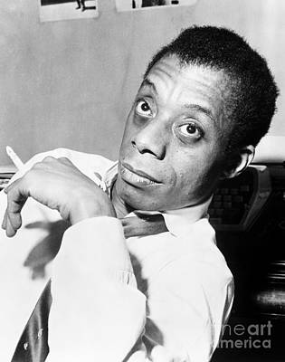 Photograph - James Baldwin (1924-1987) by Granger