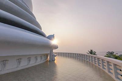 Photograph - Japanese Peace Pagoda - Sri Lanka by Joana Kruse