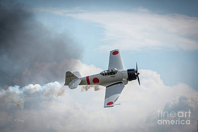 Japanese Zero- Mitsubishi A6m Art Print