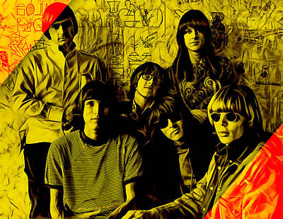 Rock Mixed Media - Jefferson Airplane Collection by Marvin Blaine