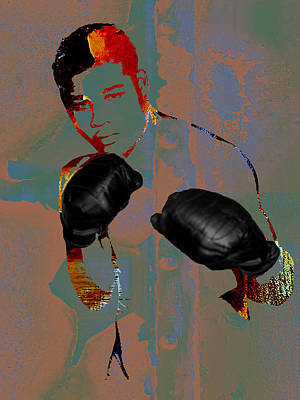 Mixed Media - Joe Louis Collection by Marvin Blaine