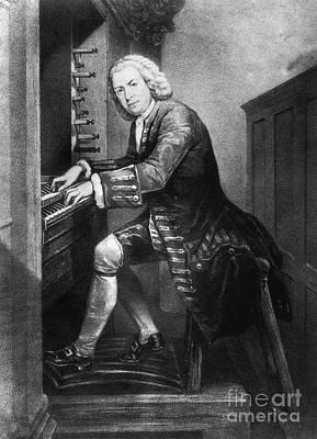 Johann Sebastian Bach, German Baroque Art Print by Photo Researchers