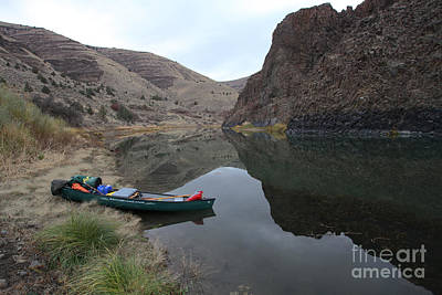 Photograph - John Day River by Gary Wing