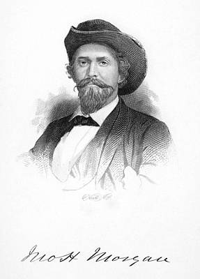Autographed Photograph - John Hunt Morgan by Granger