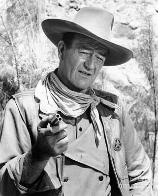 John Wayne (1907-1979) Art Print by Granger