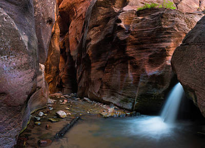 Photograph - Kanarra Slot Canyon by Michael Balen