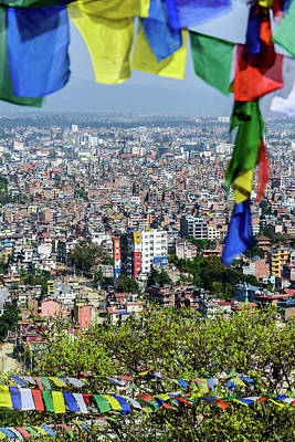 Photograph - Kathmandu City In Nepal by Dutourdumonde Photography