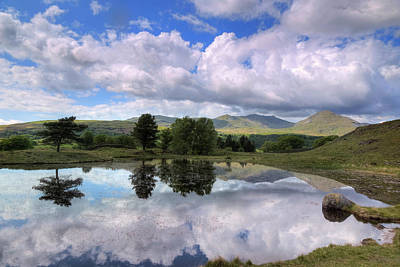 Kelly Hall Tarn - Lake District Art Print