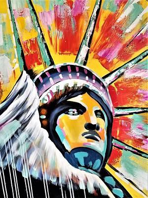 Photograph - Lady Liberty  by Rob Hans