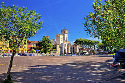 Photograph - Lago Di Garda Town Of Sirmione View by Brch Photography