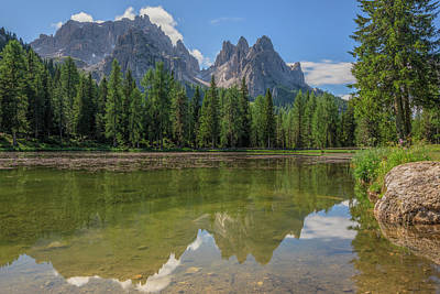 Photograph - Lake Antorno - Italy by Joana Kruse