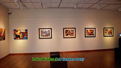 Photograph - Lake Wales Art Center by Everett Spruill