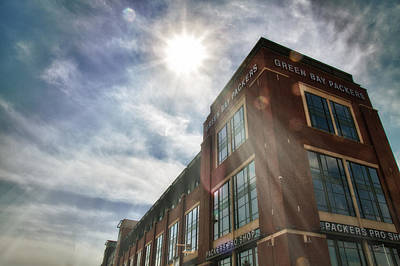 Photograph - Lambeau Field by Joel Witmeyer
