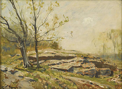 Painting - Landscape by Henry Ward Ranger