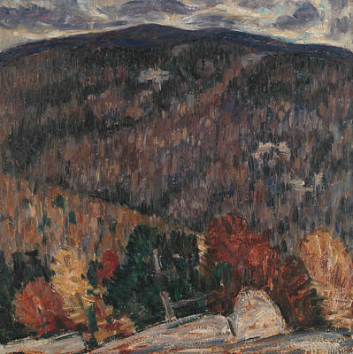 Painting - Landscape No. 25 by Marsden Hartley
