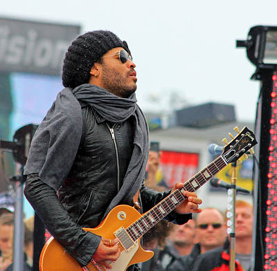 Lenny Kravitz Print by Wild Expressions Photography