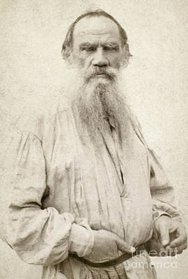 Photograph - Leo Tolstoy (1828-1910) by Granger