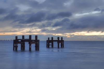 Groyne Photograph - Lepe - England by Joana Kruse