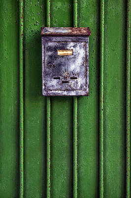 Mail Box Photograph - Letter Box by Joana Kruse