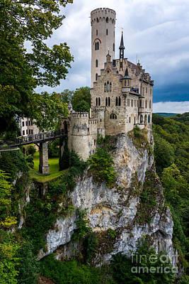 Lichtenstein Photograph - Lichtenstein Castle - Baden-wurttemberg - Germany by Gary Whitton