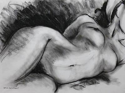 Life Drawing Art Print by David Alfonsetti