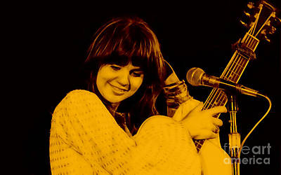Pop Mixed Media - Linda Ronstadt Collection by Marvin Blaine