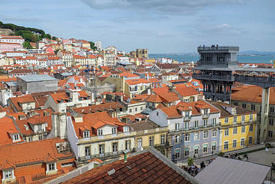 Photograph - Lisbon View by Carlos Caetano