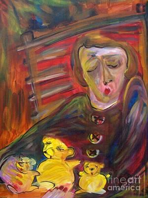 Painting - 3 Little Bears by Michaela Kraemer