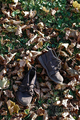Photograph - Little Boy Boots by Birgit Tyrrell