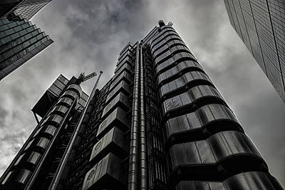 Abstract Skyline Rights Managed Images - Lloyds of London Royalty-Free Image by Martin Newman