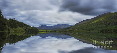 Photograph - Llynnau Mymbyr by Ian Mitchell