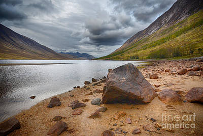 Scottish Highlands Wall Art - Photograph - Loch Etive by Smart Aviation