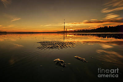 Photograph - Locust Beach Sunset by Paul Conrad