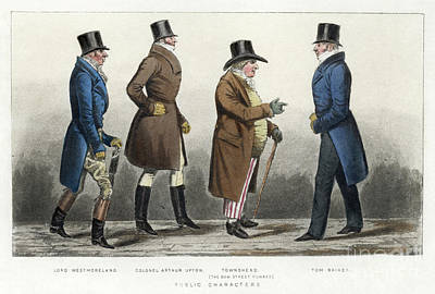Drawing - London, C1815.  by Granger