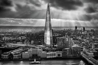 London From The Sky Garden Art Print by Ian Hufton