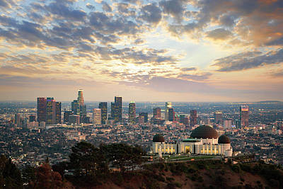 Photograph - Los Angeles Skyline by Jerome Obille