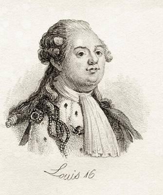 Louis Xvi 1754-1793 King Of France Art Print