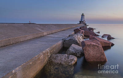 Chicago Photograph - Ludington Lighthouse by Twenty Two North Photography