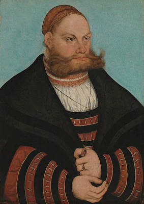 Painting - Lukas Spielhausen by Lucas Cranach the Elder