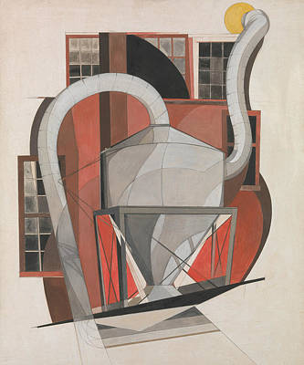 Drawing - Machinery by Charles Demuth
