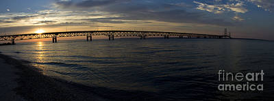 Photograph - Mackinac Bridge by Tara Lynn