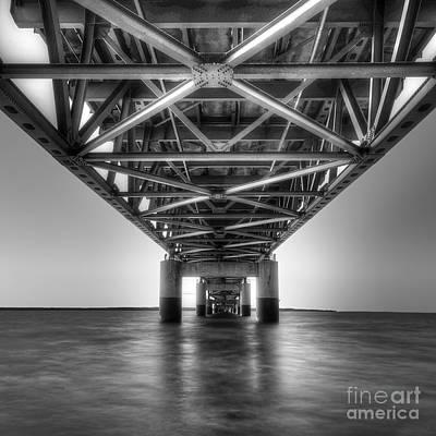 Mackinac Bridge Photograph - Mackinac Bridge by Twenty Two North Photography