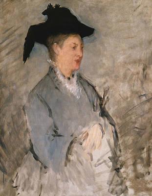 Painting - Madame Edouard Manet by Edouard Manet