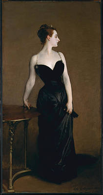 Painting - Madame X by John Singer Sargent