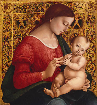 Infant Painting - Madonna And Child by Luca Signorelli