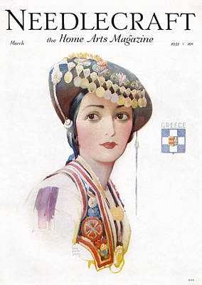 Photograph - Magazine Cover, 1926 by Granger